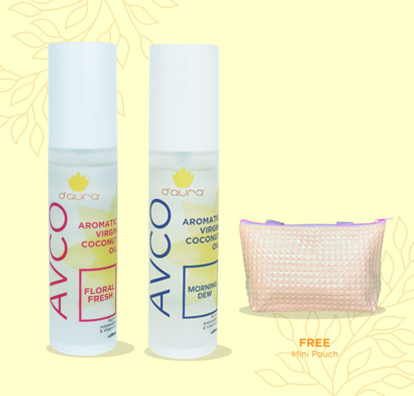 D'Aura 2 AVCO Free mini pouch