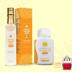 D'Aura VCO Gold Softgel 1